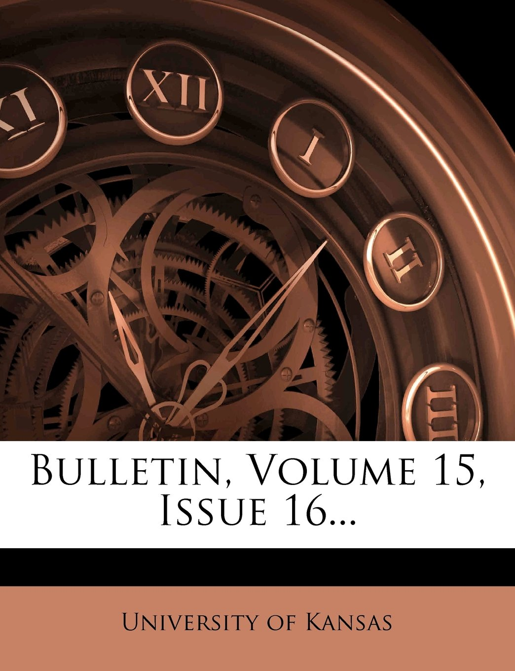 Bulletin, Volume 15, Issue 16... PDF
