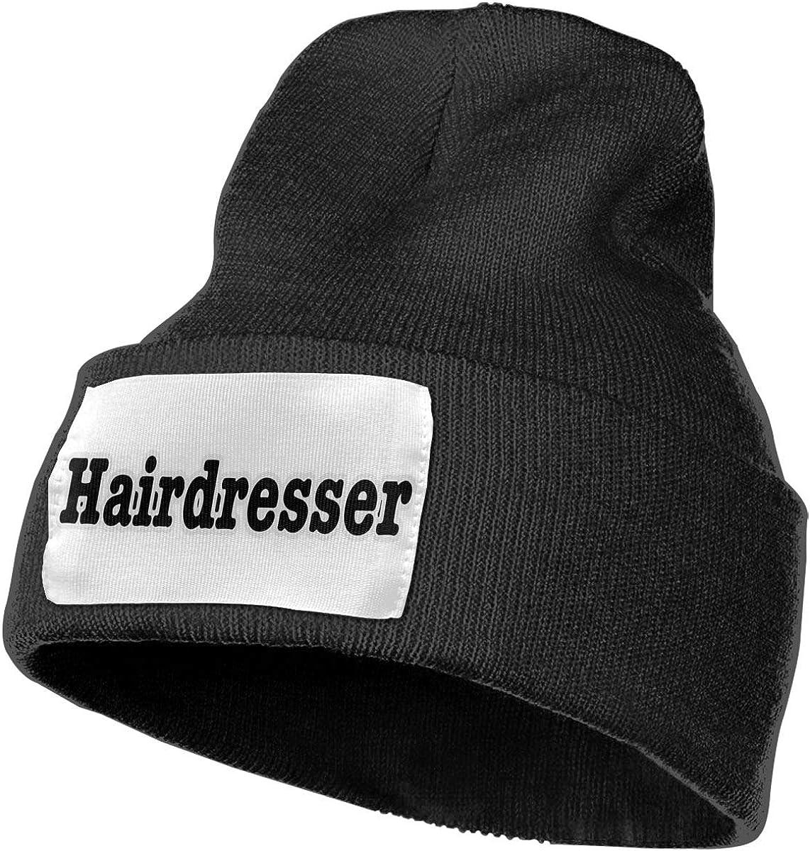 TAOMAP89 Hairdresser Men /& Women Skull Caps Winter Warm Stretchy Knitting Beanie Hats