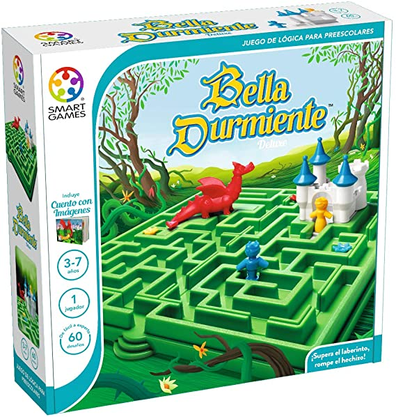 smart games- Bella Durmiente, Color Verde (SmatGames SG025ES): Amazon.es: Juguetes y juegos