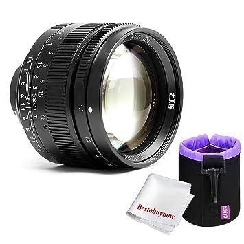 7 artesanos 50 mm f1.1 gran apertura vertical fijo lente de enfoque para cámaras