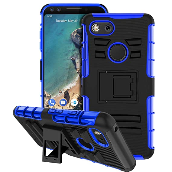 the latest cf395 a1f13 Google Pixel 3 Case, Pixel 3 Case, ForDesign [Kickstand] Stand Hard Heavy  Duty Full-Body Protection Durable Dual Layer TPU Plastic Shockproof Rugged  ...