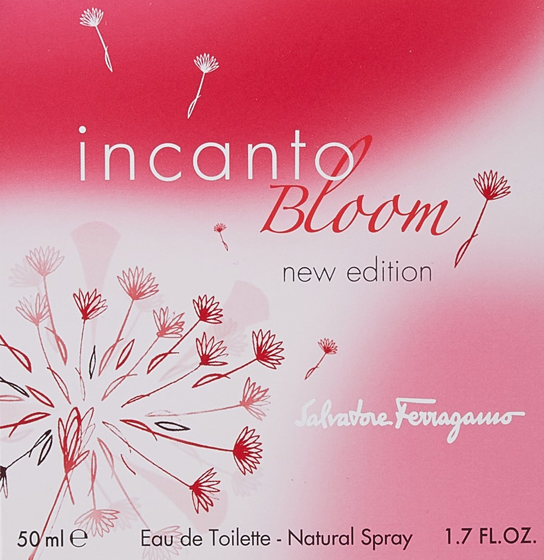 Salvatore Ferragamo Incanto Bloom Eau de Toilette Spray for Women, 1.7 Ounce