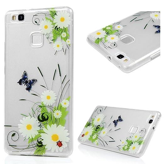 54 opinioni per Huawei P9 Lite Custodia Cover- Lanveni Elegante Caso Morbido TPU Silicone Ultra