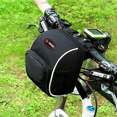 hotspeed para bicicleta bolsa de manillar bicicleta delantera ...