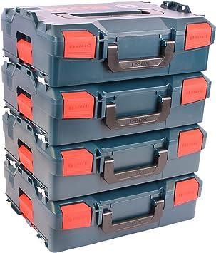 BOSCH Pack 4 Cajas apilables L-Boxx 136: Amazon.es: Bricolaje y herramientas