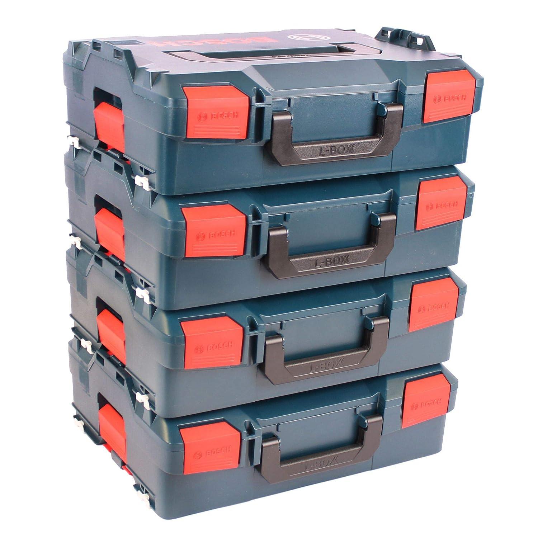 BOSCH Pack 4 Cajas apilables L-Boxx 136