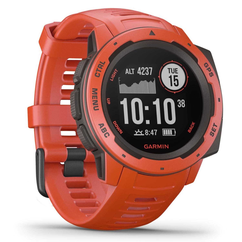 Garmin Instinct, Rugged Outdoor Watch with GPS