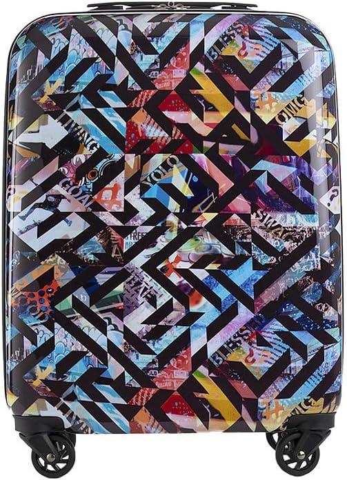 PACOMARTINEZ - Maleta de Cabina Estampado - Print Juvenil ABS