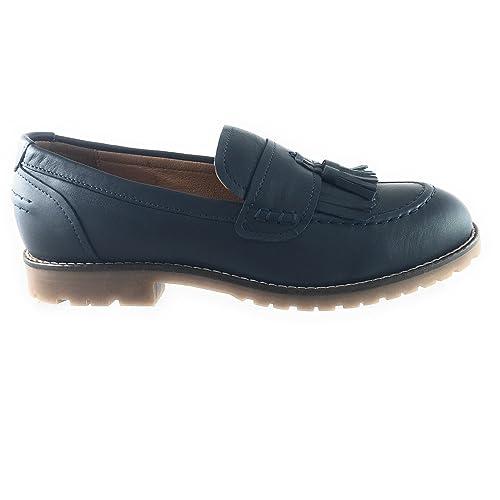 Seasalt - Mocasines para Mujer Azul Azul Marino, Color Azul, Talla 37 1/3: Amazon.es: Zapatos y complementos