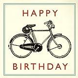 Birthday Card - Choice Of Design ( Vintage Bicycle )