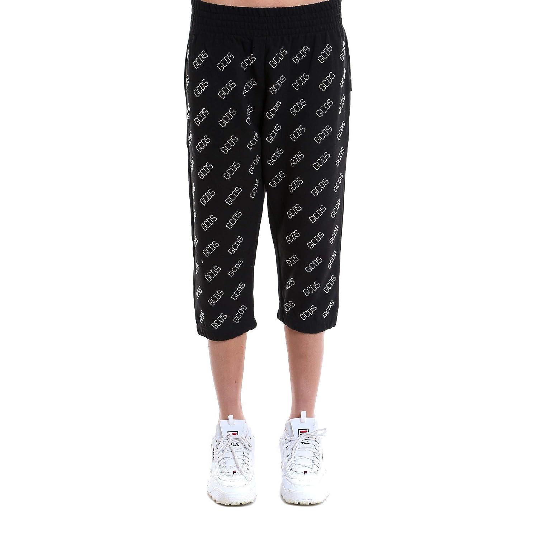 Brand Size XS GCDS Women's SS18W03003402 Black Cotton Pants