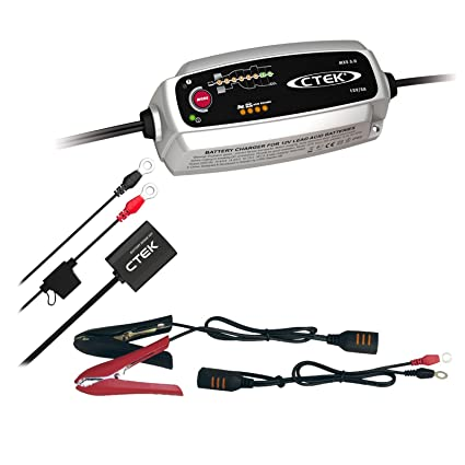 Ctek MXS 5.0 + battery Sense batería Cargador de batería ...