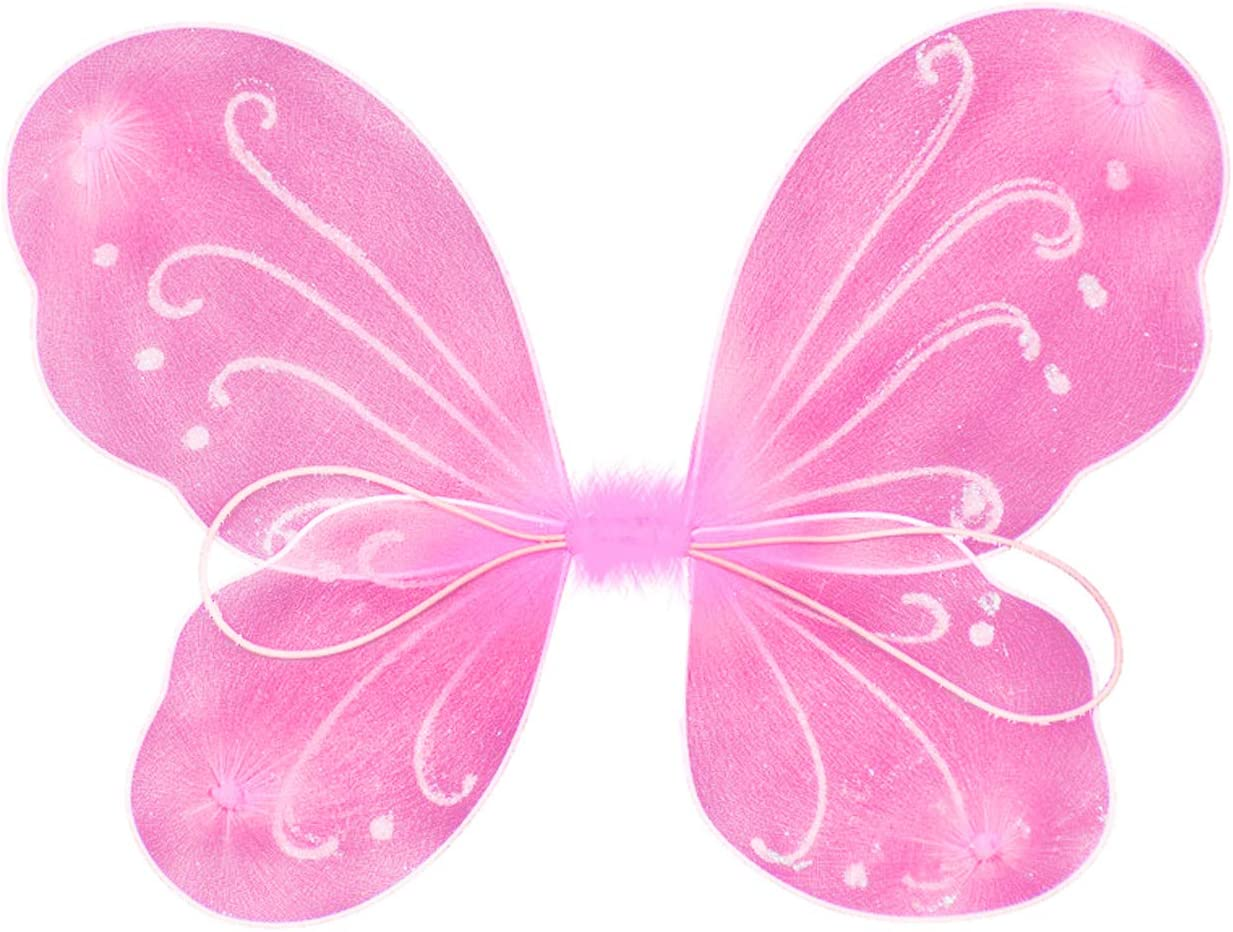 Hot Angel Dress Pixie Fairy Butterfly Wing Kid Girl Baby Shooting Party Apparel