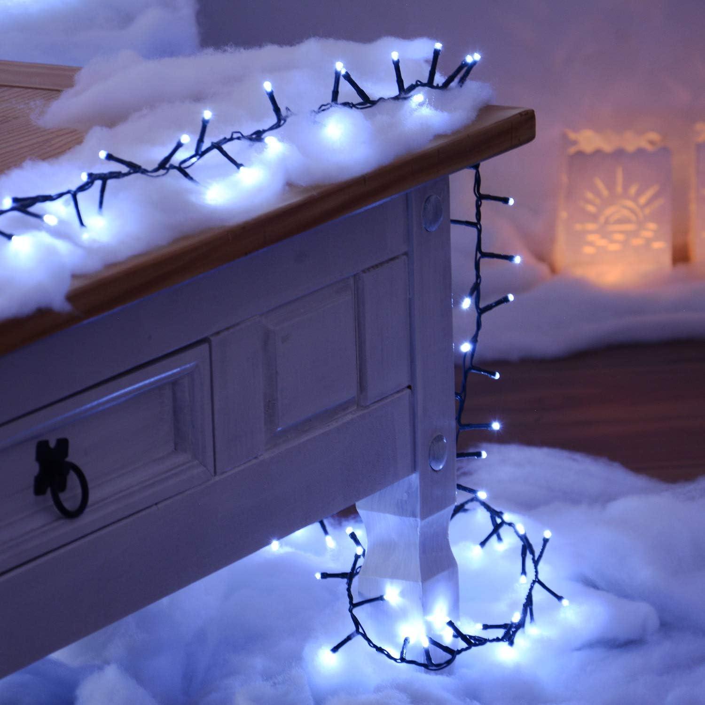 Party IP44 Wasserdicht Schlafzimmer TOFU Au/ßen /& Innen 10M 100LEDs Lichterkette Weihnachtsbeleuchtung 8 Modi Lichterkettenvorhang LED Dekorative f/ür Weihnacht 1. Warmwei/ß, 2 Packungen