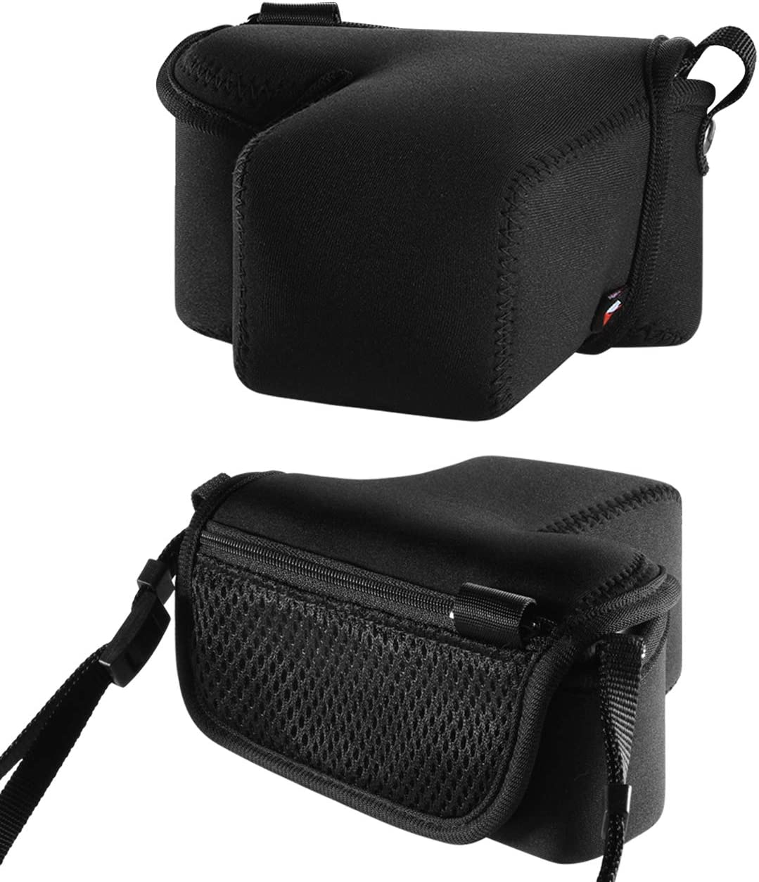 TXEsign Neoprene Protection Camera Case Sleeve Pouch Bag Compatible with Sony Alpha a6500 a6000 Mirrorless Digital Camera with 50mm Lens Accessories Storage Bag