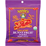 Annie's Organic Bunny Fruit Snacks, Berry Patch, 2.75 oz Pouches (Pack of 9)
