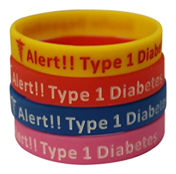 Amazon.com: Type 1 Diabetes Bracelets Insulin Dependent Medical ...
