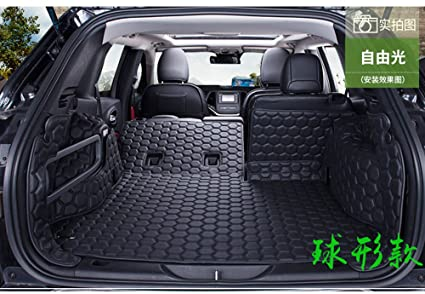 Amazon Com Auto Mall Custom Fitstrunk Mats For Jeep Cherokee 2014