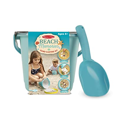 Melissa & Doug Beach Memories Sand Casting Kit: Toy: Toys & Games