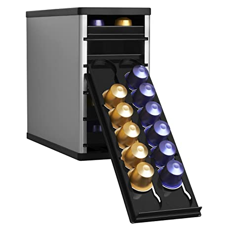 Charmant YouCopia CaféStack Nespresso Pod Storage Drawers Cabinet Organizer, 60  Capsules
