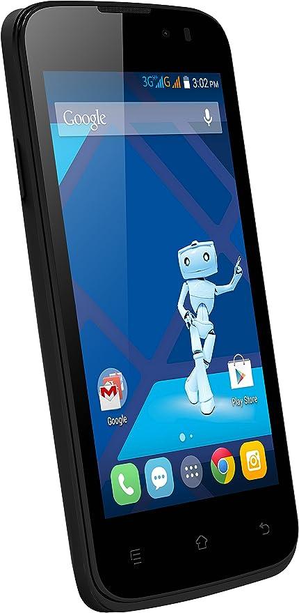 Haier W717 Smartphone Libre 3G (Pantalla de 4 Pulgadas, 4 GB, Dual SIM, Android 4.4 Jelly Bean), Color Blanco y Negro (Importado): Amazon.es: Electrónica