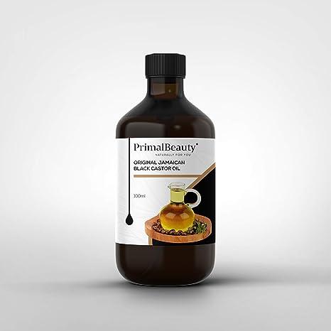 Primal Beauty - Aceite de ricino jamaiquino, color negro
