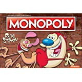 Monopoly Ren & Stimpy Board Game | Based on The Nickelodeon Series Ren & Stimpy | Officially Licensed Ren & Stimpy Merchandise | Themed Classic Monopoly Game