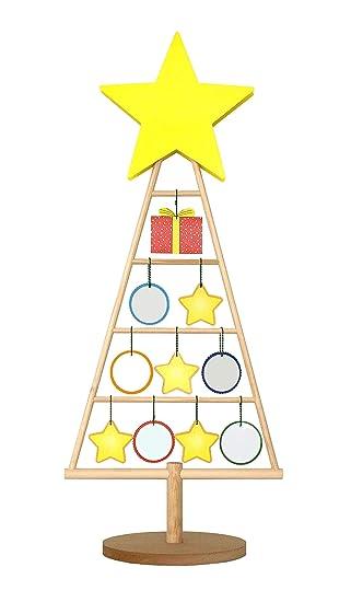 Dreherdisplay Weihnachtsbaum Aus Holz Schöne Weihnachtsdeko Zum Basteln Als Adventskalender Zum Selbst Befüllen Dekobaum Aus Echtholz