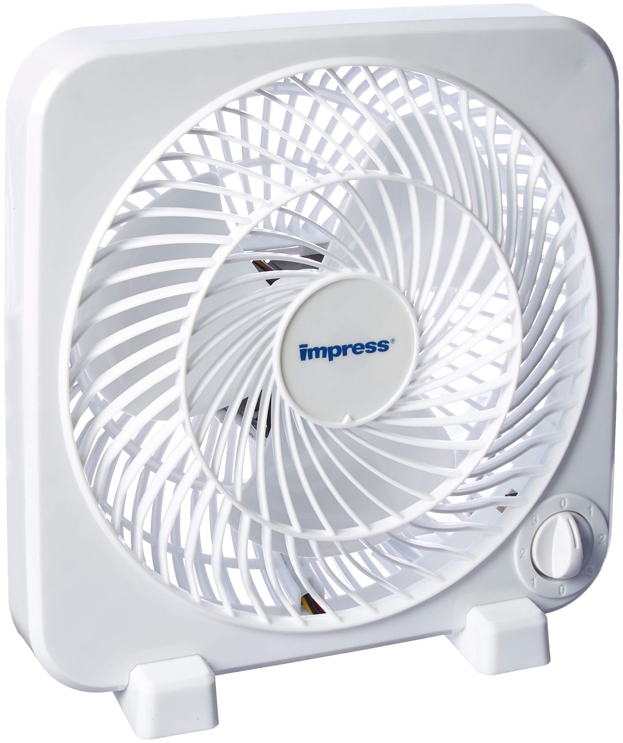 Impress IM-719BX Box Fan by Impress