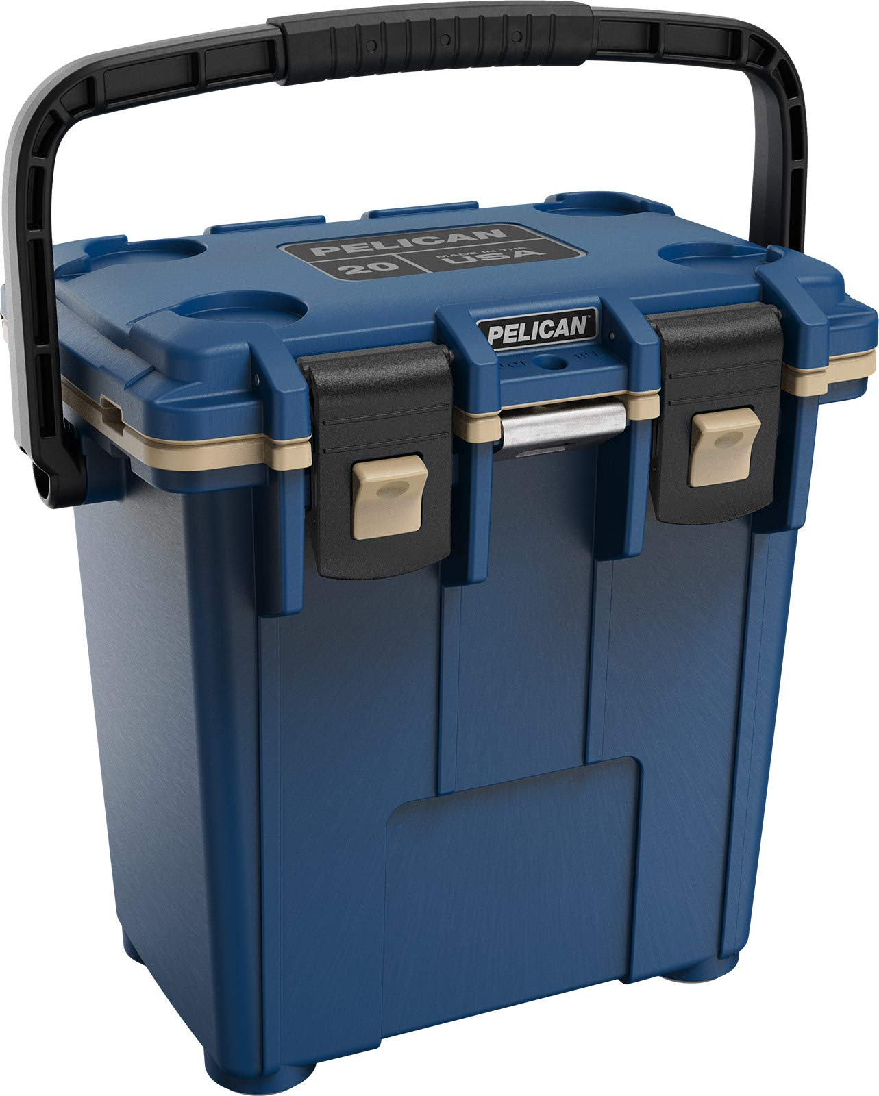 Pelican Elite 20 Quart Cooler (Pacific Blue/Coyote)