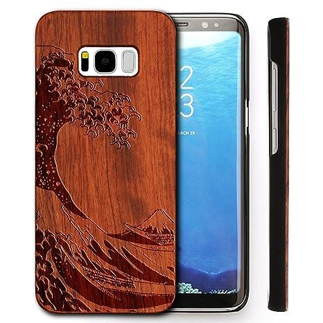 coque samsung galaxy s8 en bois