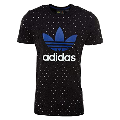 8291f3bc7 adidas Pharrell Williams Hu AOP Tee Mens Style   BR1830-Black White Size