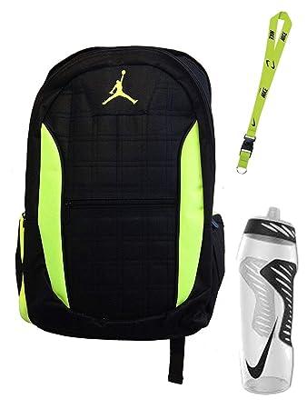 super cheap separation shoes nice shoes Nike Air Jordan Jumpman 23 Laptop Schwarz/Volt (Neon Grün ...