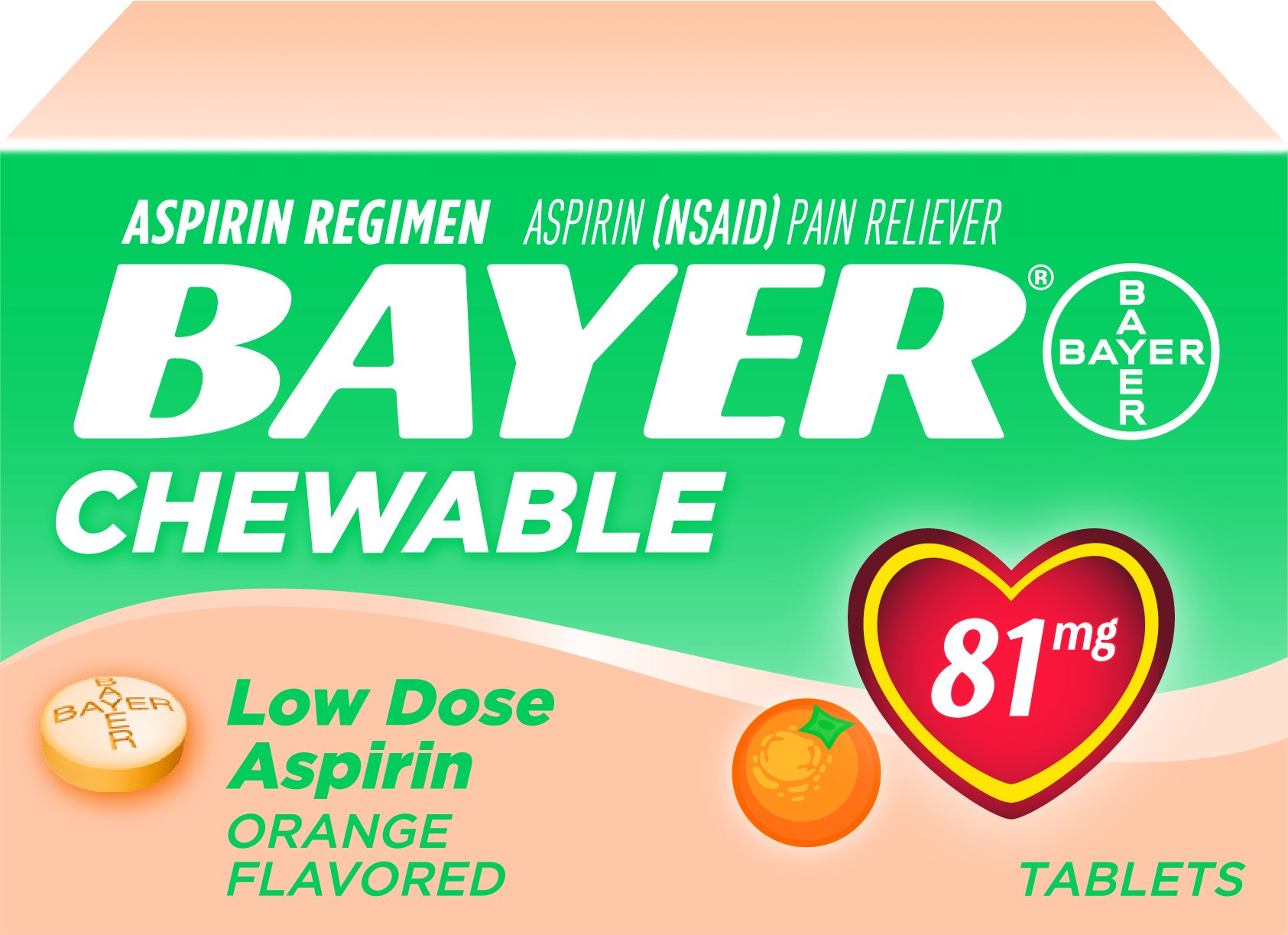 Bayer Aspirin 325 Mg Tablet - WebMD