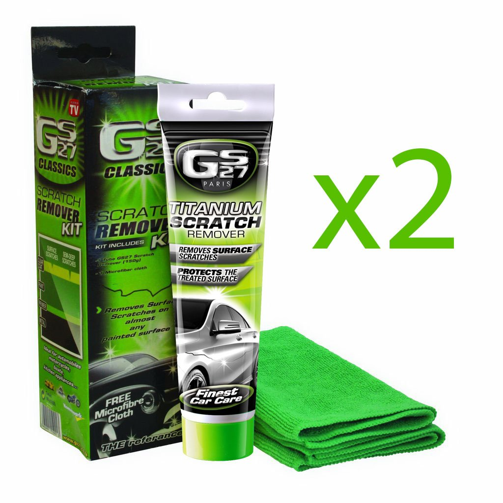 Amazon.com: GS27 Car Scratch and Scrape Repair Kit Double Piece Twin ...