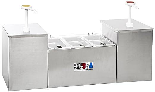 Estación de especias condimentos dispensador de referencia # 52001