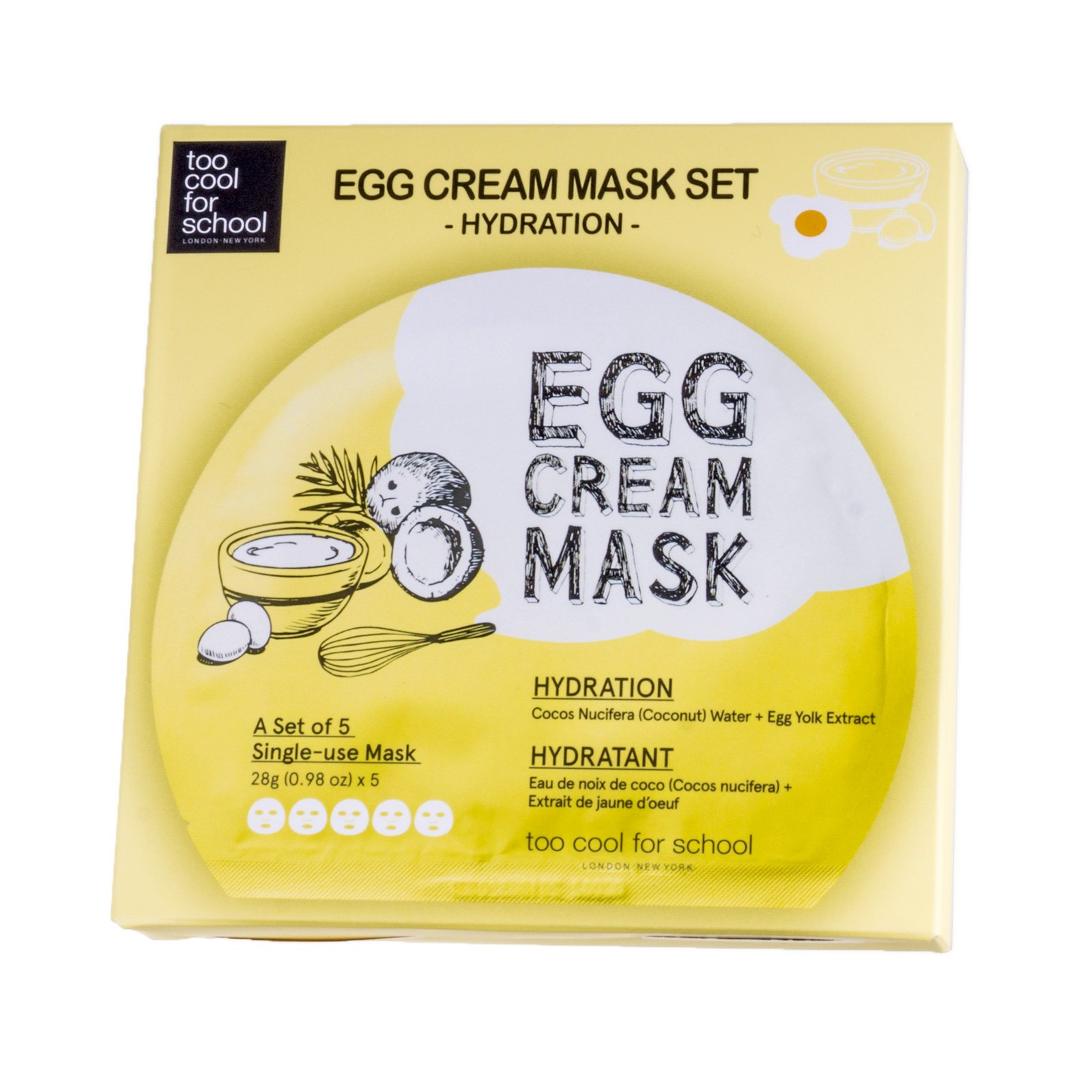 Amazon.com: Too Cool For School Egg Remedy Hair Pack, 7.05..