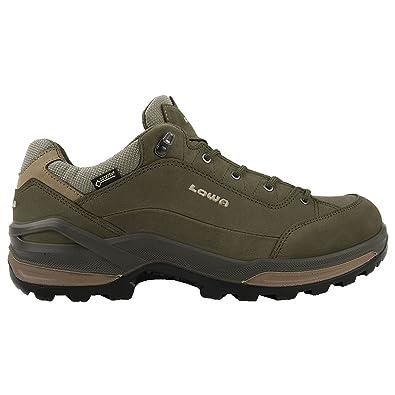 4638a1860de Lowa Mens Renegade Gore-Tex Lo Nubuck Shoes