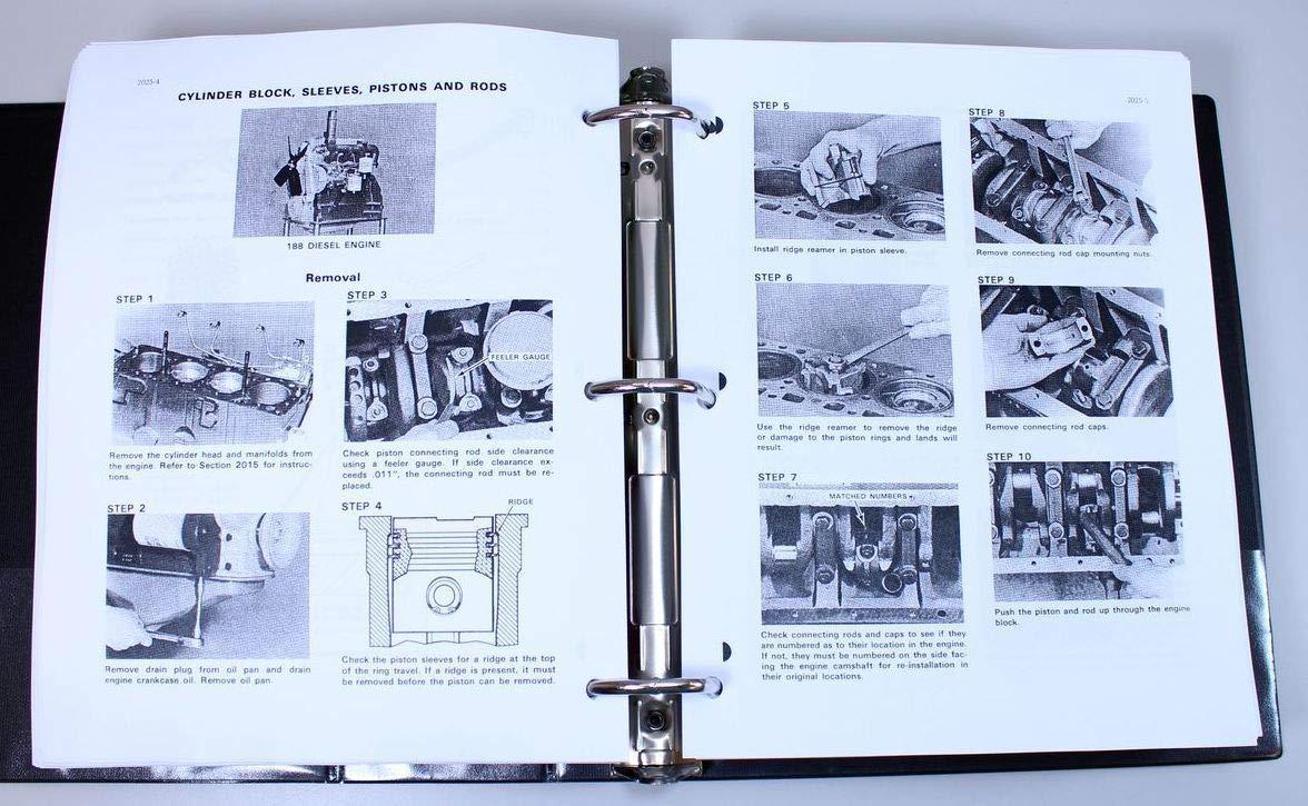 Amazon com: Case 33 Backhoe 450 Crawler Loader Dozer 188 Diesel
