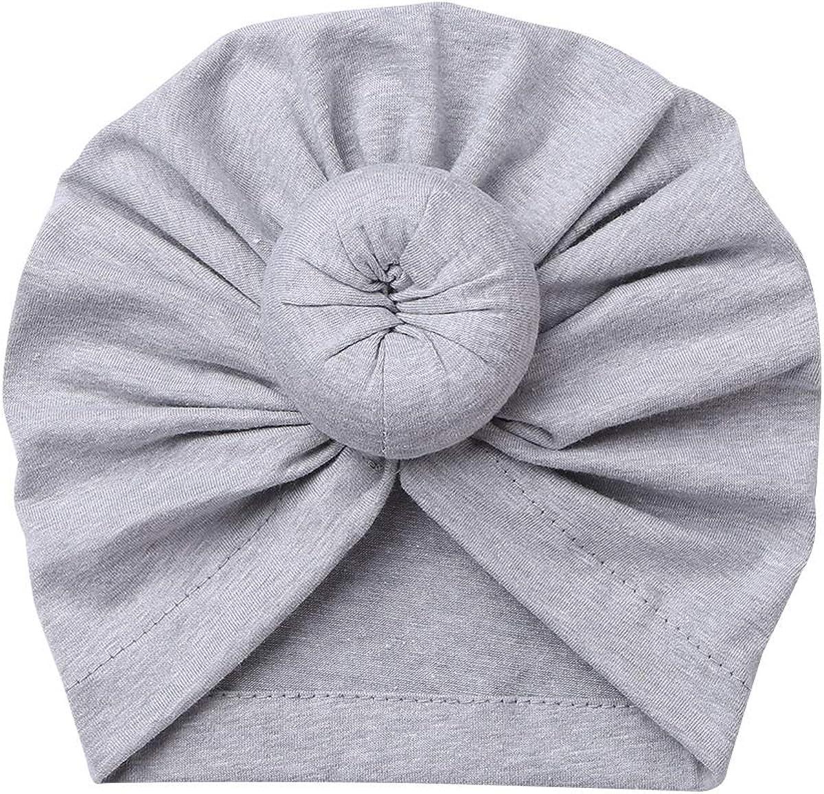 inlzdz Bonnet B/éb/é Nouveau-N/é Turban Lot de 3 Bonnet Indien en Coton Bandeau Chapeau Noeud Mou T/ête Wraps pour B/éb/é Naissance Chapeau de lh/ôpital Infantile Chapeau