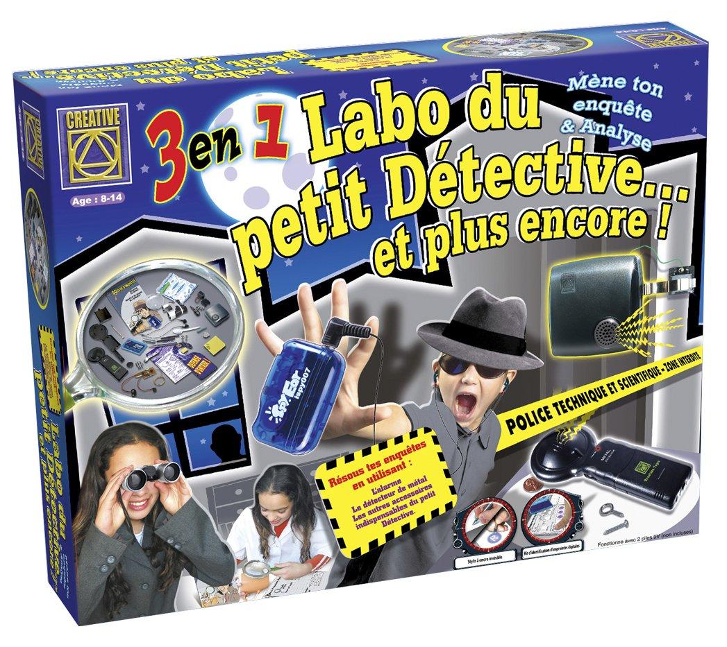 Creative Toys - Ct 5660 - Jeu Éducatif et Scientifique - Labo Detective et Autres - 3 en 1 Détective