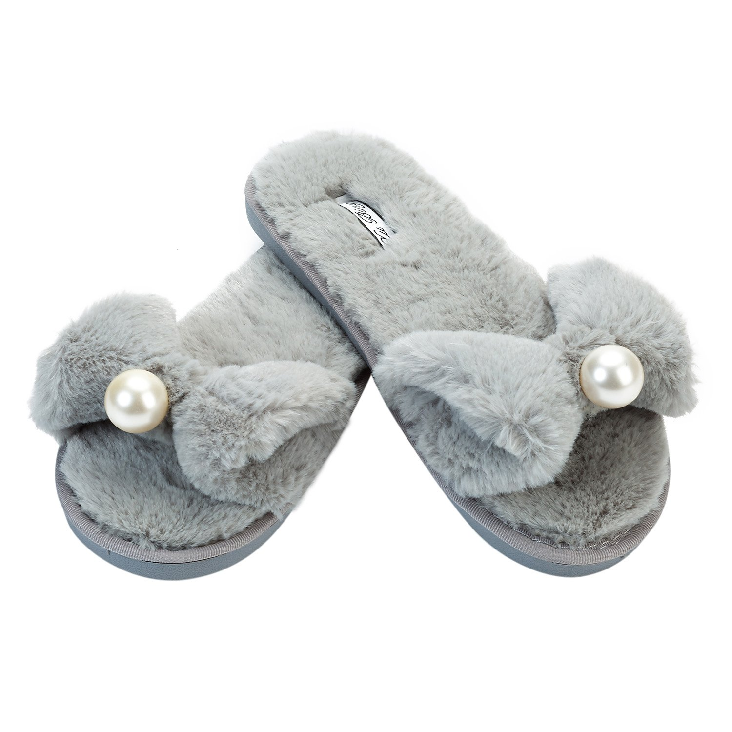 JOINFREE Grey JF-826, Chaussons pour Femme 14276 36.5 JOINFREE Pearl_light Grey 1342407 - fast-weightloss-diet.space
