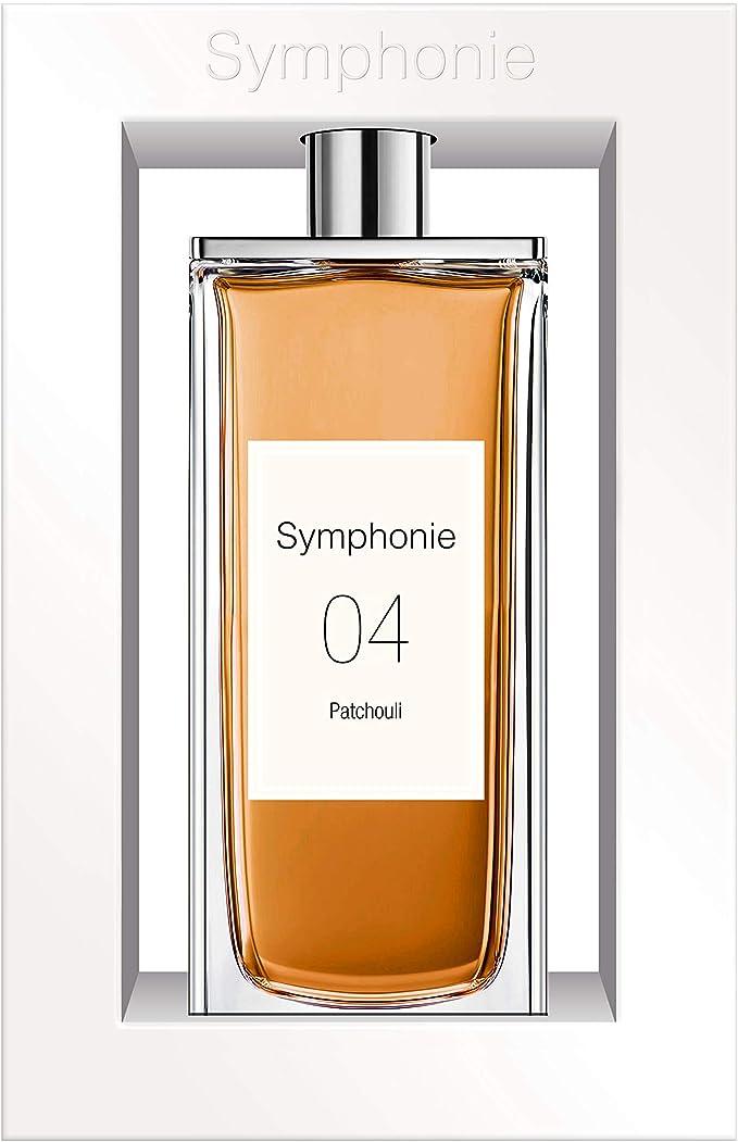 SYMPHONIE 04 Patchouli • Pachuli • Eau de Parfum 100ml • Vaporizador • Perfume para mujer • EVAFLORPARIS: Amazon.es: Belleza
