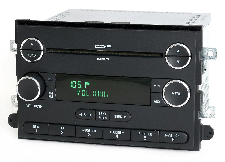 Amazon.com: Ford Fusion 06-09 AM FM 6 Disc CD Radio Chrome w Bluetooth  Music 8E5T-18C815-AF: Car Electronics