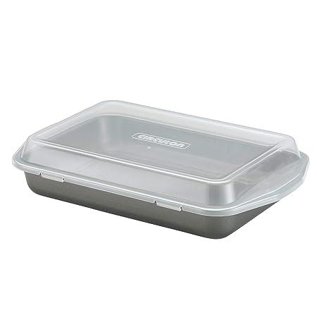 Circulon 57968 Bakeware Cake Pan, 9 x 13 with Lid
