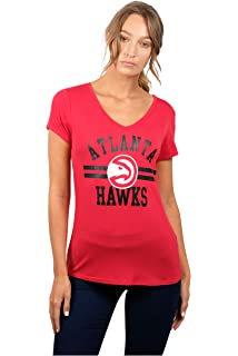 9c78ea55092 Amazon.com   UNK NBA Women s T-Shirt Raglan Baseball 3 4 Long Sleeve ...