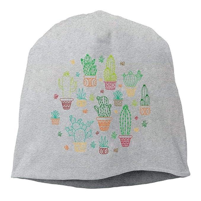 cd88e9e52bc rouqianshangmao Top Level Beanie Hat for Men Women Knit Hat Cactus Cotton  Skull Cap  Amazon.ca  Clothing   Accessories