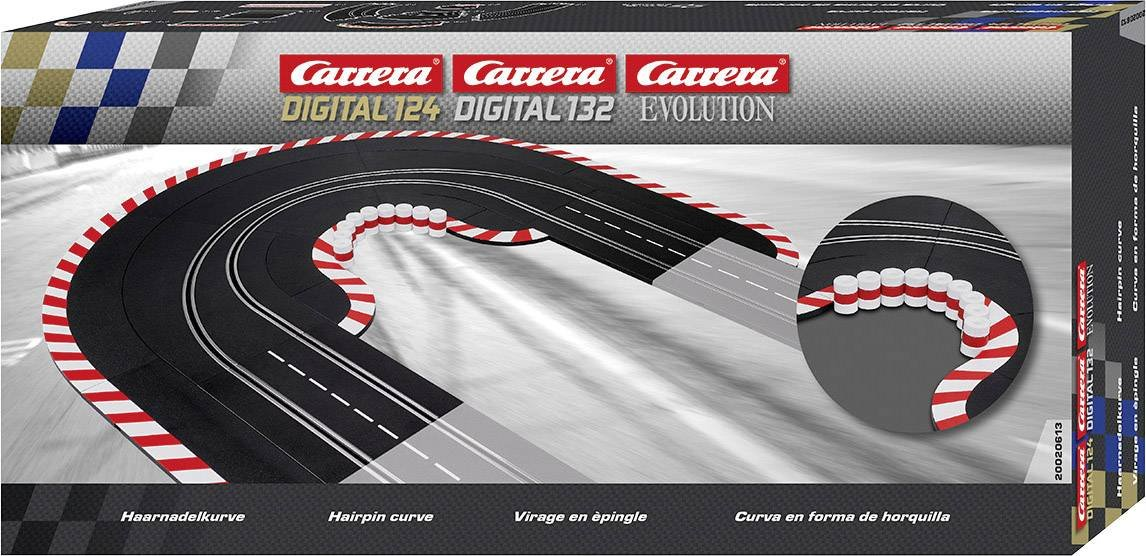 Carrera 20020613 Hairpin Curve Slot Car Race Track