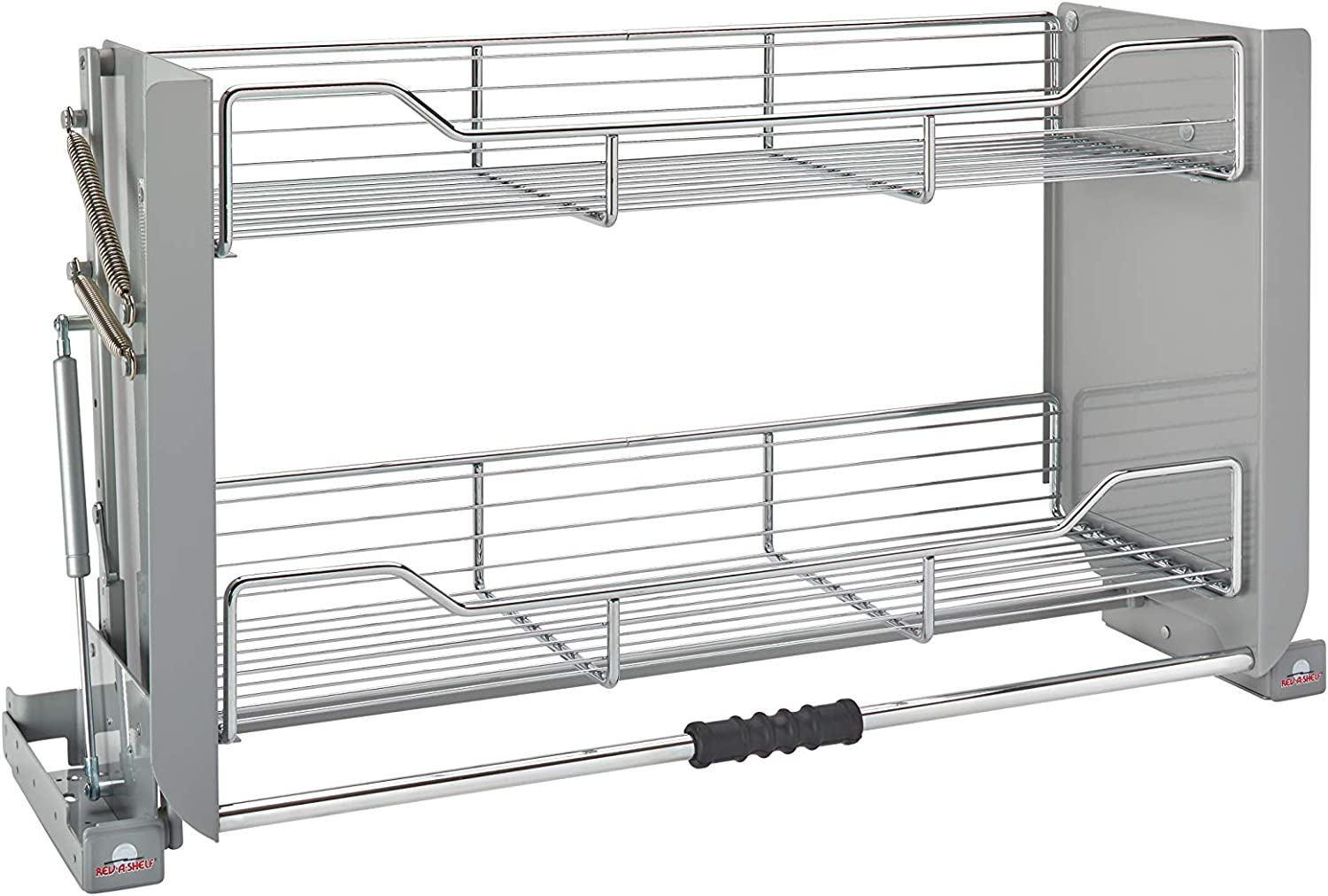 Rev A Shelf 5pd 36crn Large Wall Cabinet Pull Down Shelving System Home Kitchen