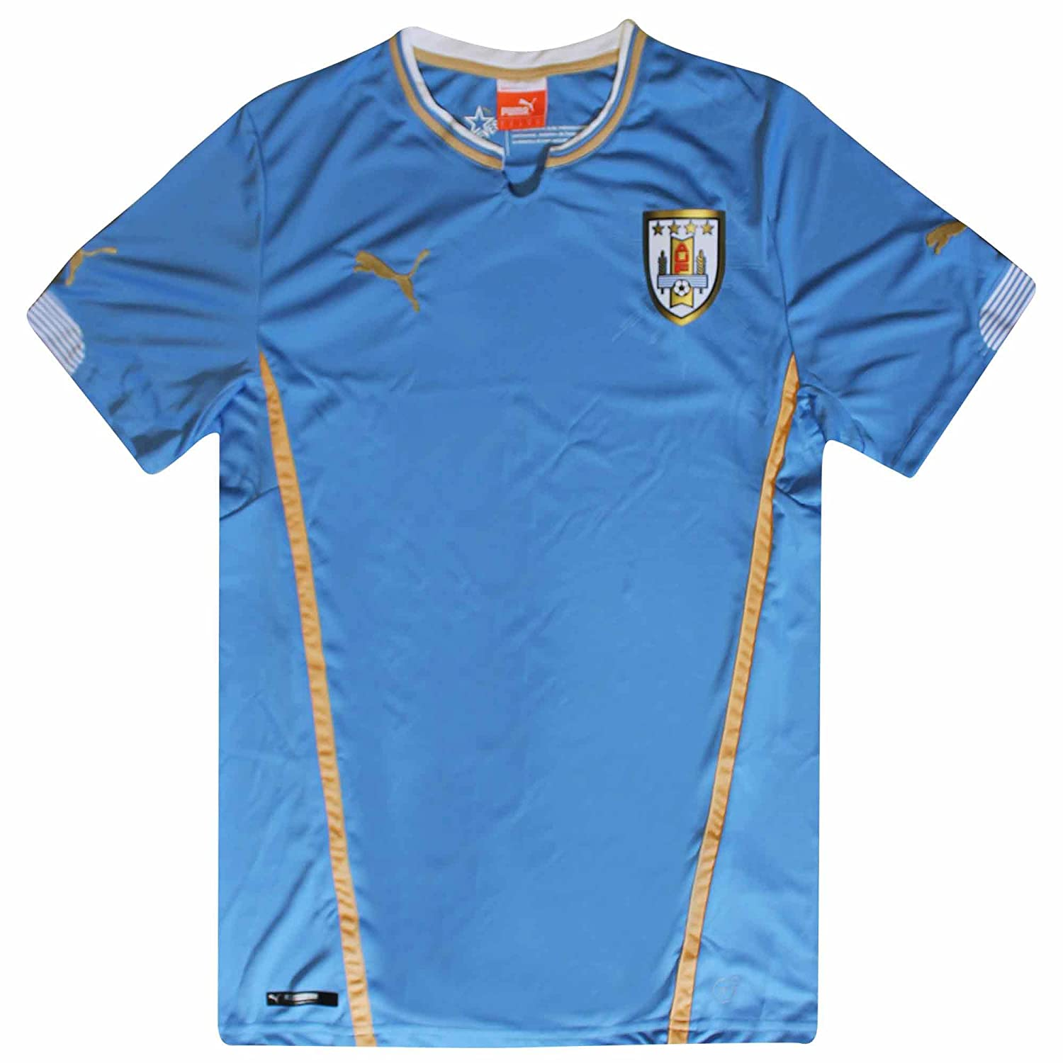 f3476c1a733 Amazon.com  Uruguay Official Replica Training Jersey by Puma (Adults)   Clothing